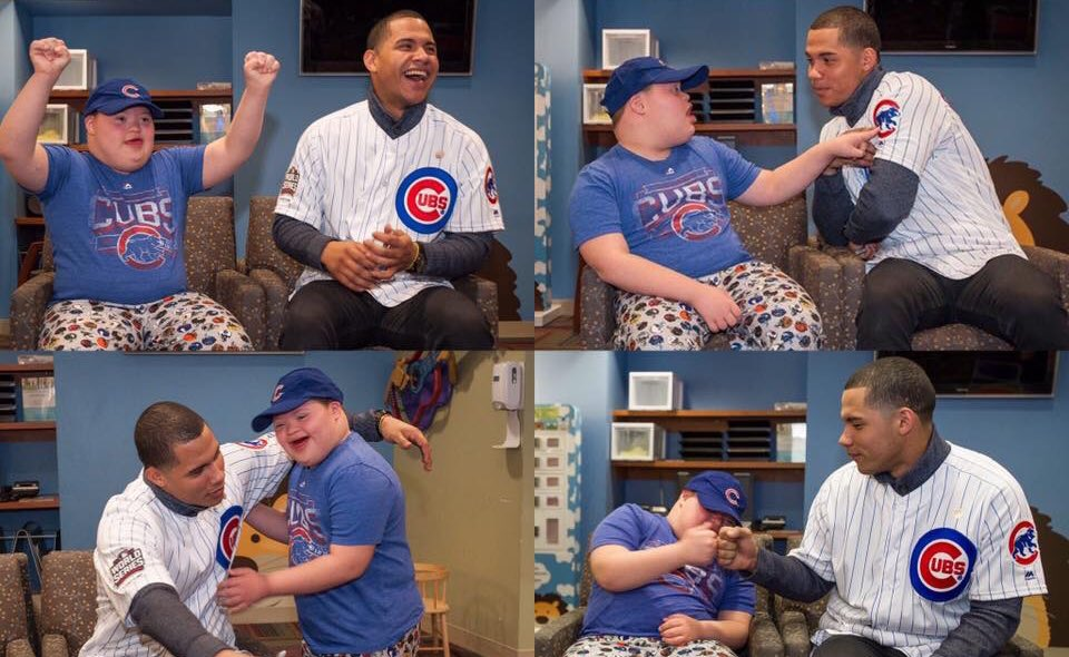 RT @AdvocateKids: Because it's Saturday and it's been one year since this BFF duo met. 🙌 @WContreras40 #ThatsCub https://t.co/EijXafRV9x