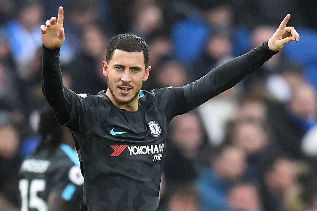 It was Eden Hazard's day as Chelsea romped to victory over Brighton.  #PlayerRatings: https://t.co/936DLMYyVj https://t.co/bI8zKqt2aT