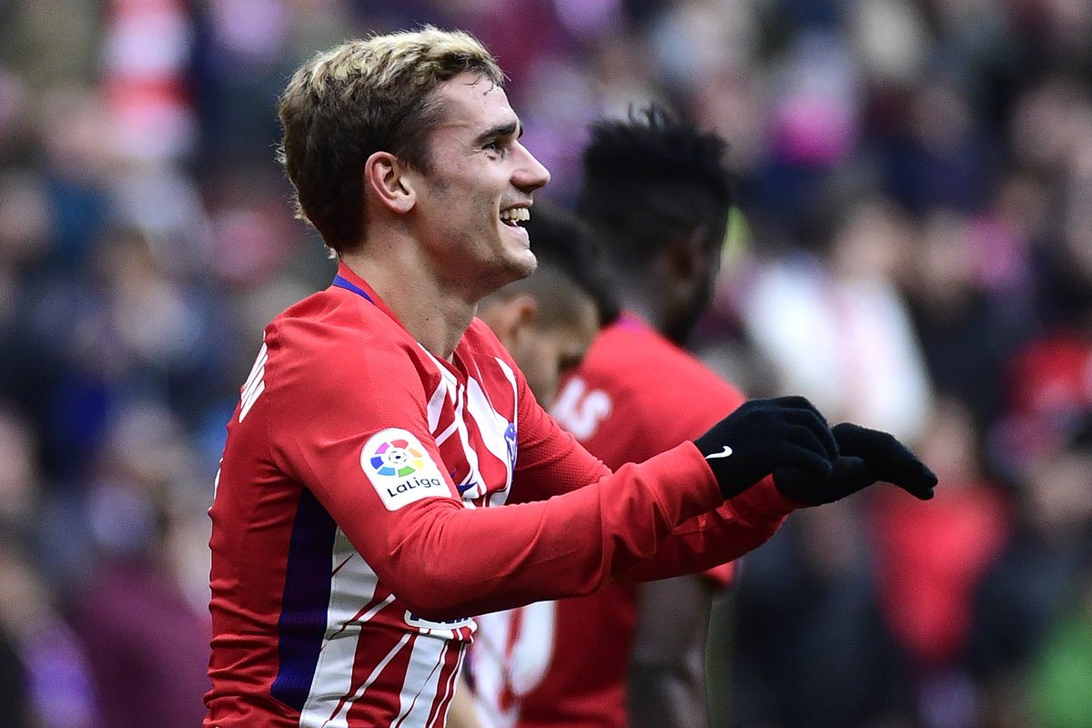Atlético Madrid could not hold on to the lead given to them by Antoine Griezmann as Girona prised a 1-1 Liga draw. #UEL https://t.co/EG356pDufy