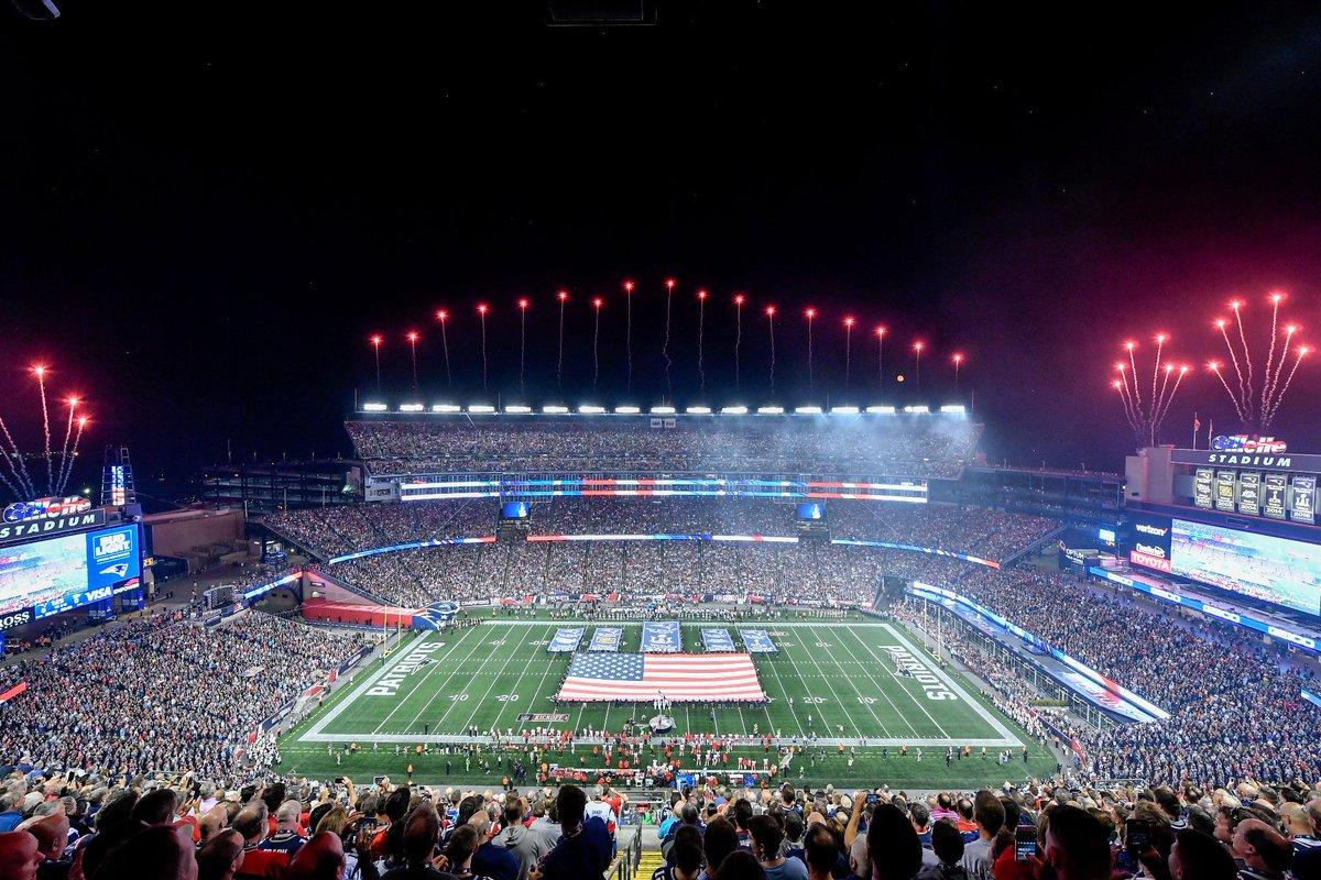 The AFC Championship at Gillette Stadium...TOMORROW! 💥  #NFLPlayoffs | #JAXvsNE https://t.co/GQRTcHLQ5u