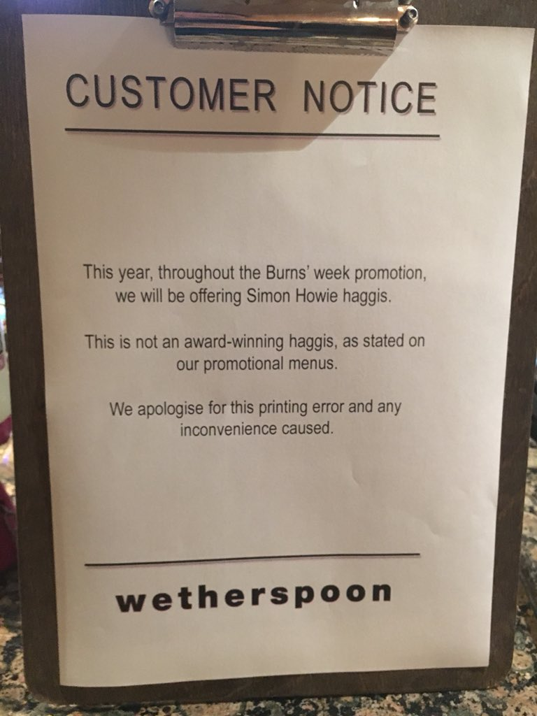 test Twitter Media - RT @GrantTucker: This is the saddest notice I've ever seen in a Wetherspoons. https://t.co/UxWPtkLy1Y