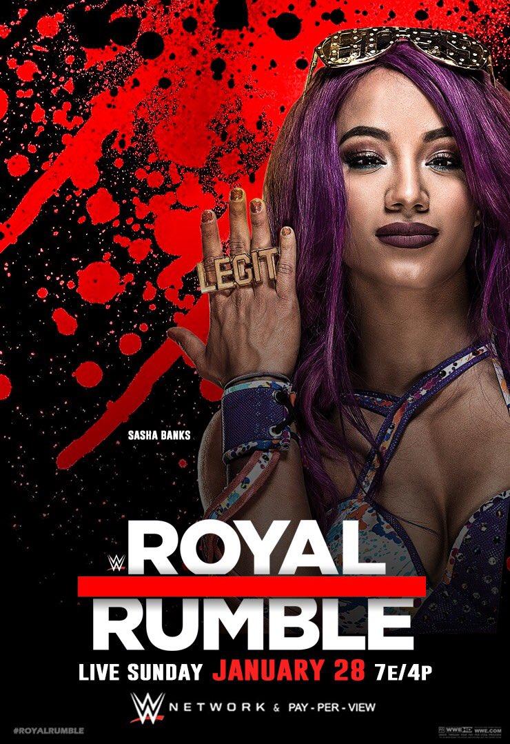 RT @THENEXTNTERN: Yeaaaa it's been way to long! I'M BACK! #RoyalRumble @SashaBanksWWE #WWE #RAW #RAW25 #SDLIVE https://t.co/qvPY6P1MXf