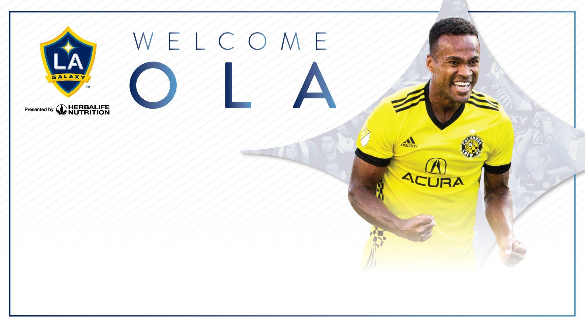[TRADE] #LAGalaxy acquire forward @OlaKamara from @ColumbusCrewSC: https://t.co/jNXNFpkkWS https://t.co/5QKEJnCqtI