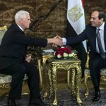 Pence says US stands 'shoulder to shoulder' with Egypt