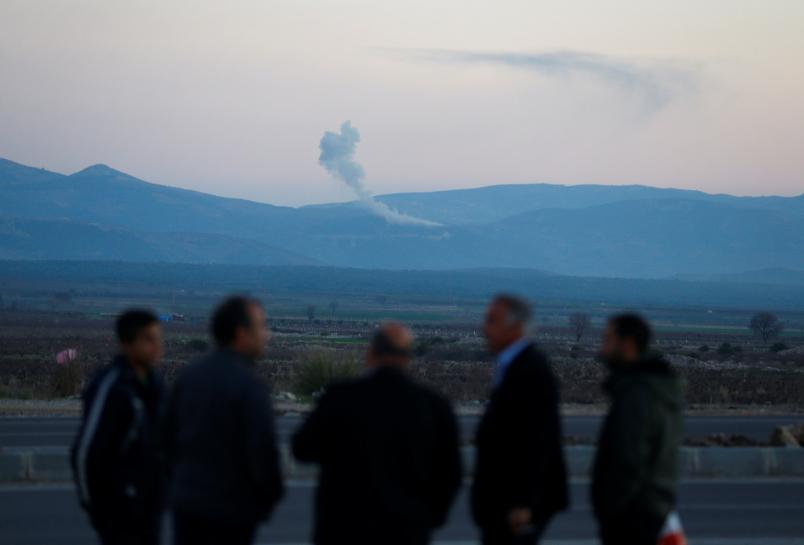 Airstrikes pound Syria's Afrin as Turkey launches 'Operation Olive Branch'