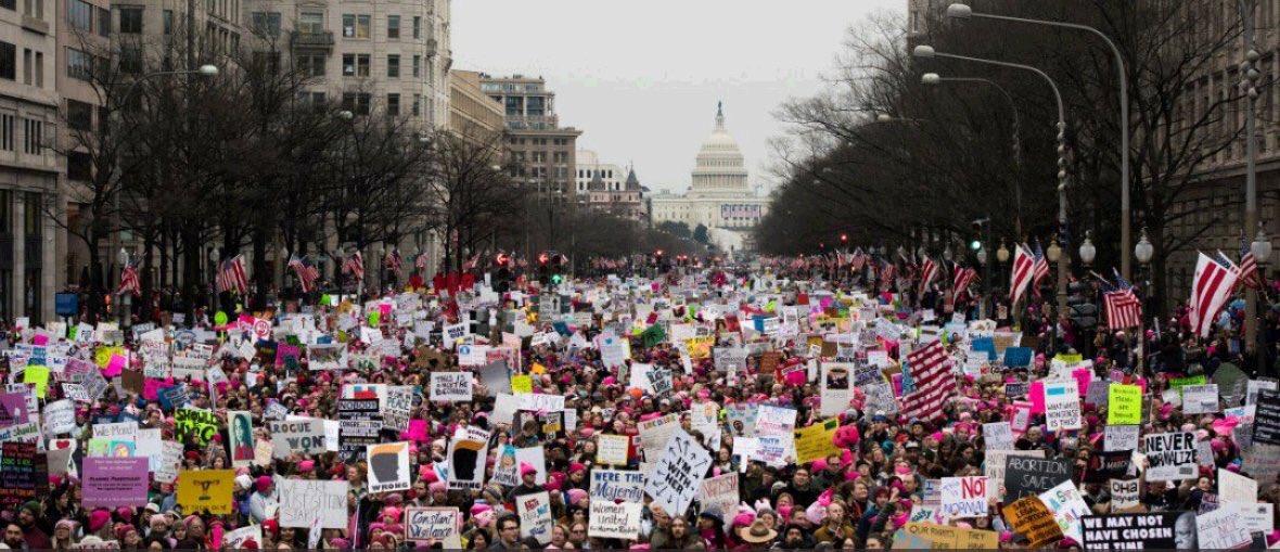 RT @rmayemsinger: Most women in history to reject one man. #WomensMarch2018 https://t.co/KRa4kZttaB