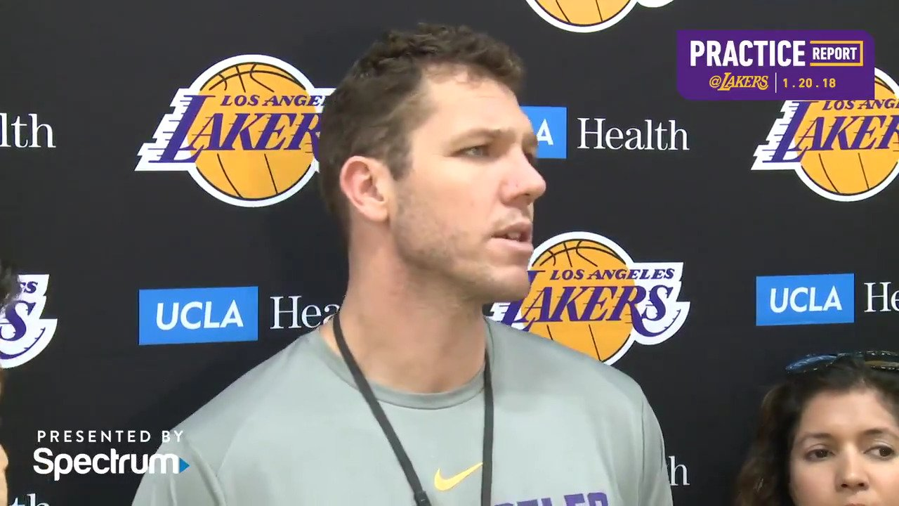 �� Luke Walton gives the latest injury update and details the benefits meditation can have on elite athletes. https://t.co/MyXYlBEwFO