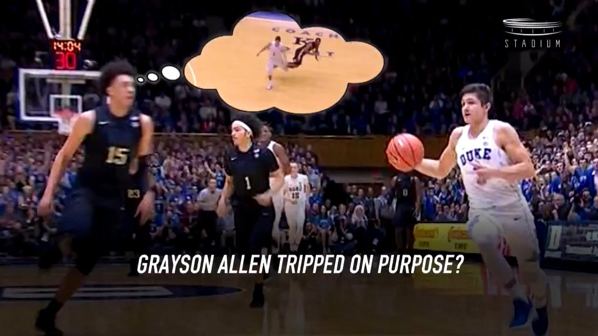 Grayson Allen would have NEVER grayson allen