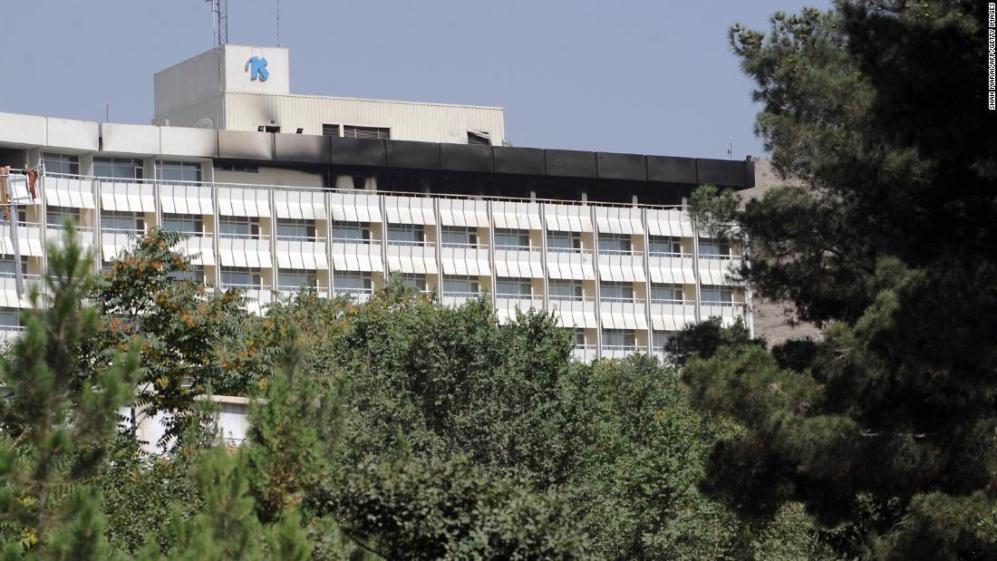Gunmen launch attack on Intercontinental Hotel in Kabul https://t.co/NgDfXLTFfk https://t.co/8sQCrH0PC9