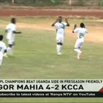 Gor Mahia beat KCCA in pre-season friendly