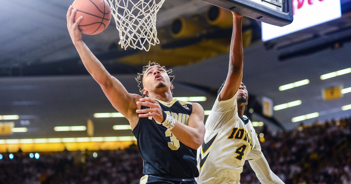 Is No. 3 Purdue this good, or is the Big Ten that bad? https://t.co/sY4tzttAeH https://t.co/A1tdsmAaTx
