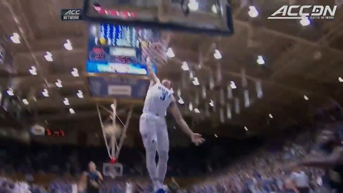 Grayson Allen with the steal...and the slam for @DukeMBB! https://t.co/nls5O4K7IQ