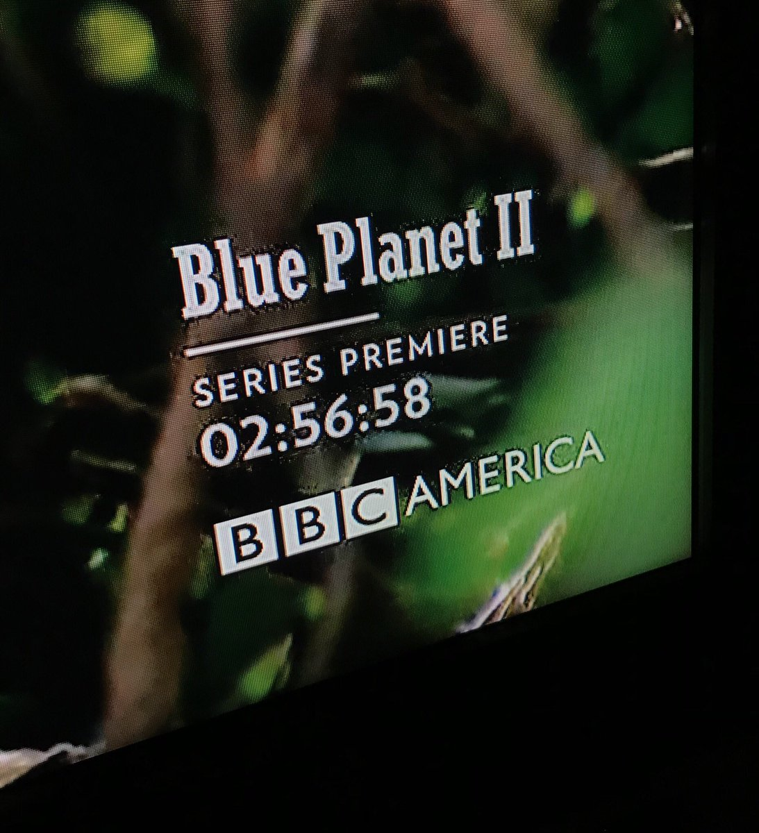 Tonight's countdown clock. This time, something good happens at zero. #BluePlanet2 https://t.co/OzH4En2Ssa