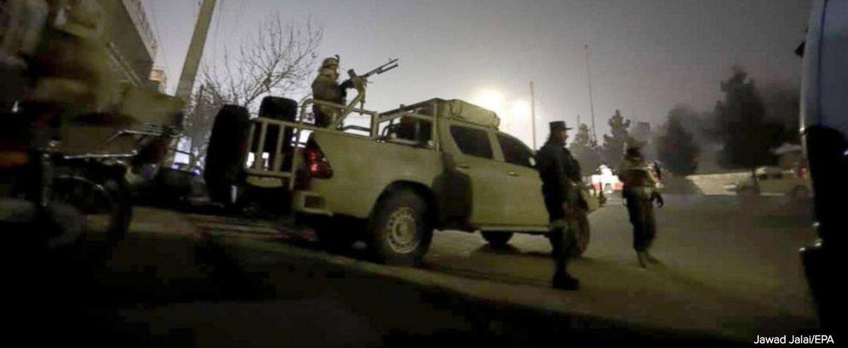 Gunmen wage attack on luxury Intercontinental Hotel in Kabul. https://t.co/TxxcH9apRr https://t.co/OQdrUI5qla