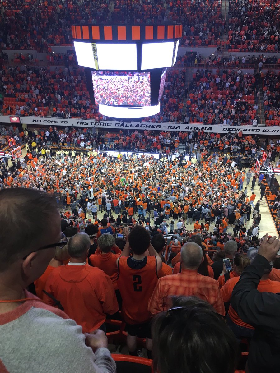 Thank you for a great afternoon at #GIA @OSUMBB and thanks for making it a #Bedlam sweep today @OSUWBB #GoPokes https://t.co/PqdFRTQ1HL