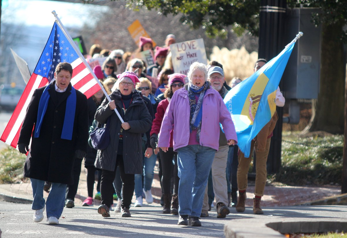 Second Women's March focuses on channeling anger into action at the polls