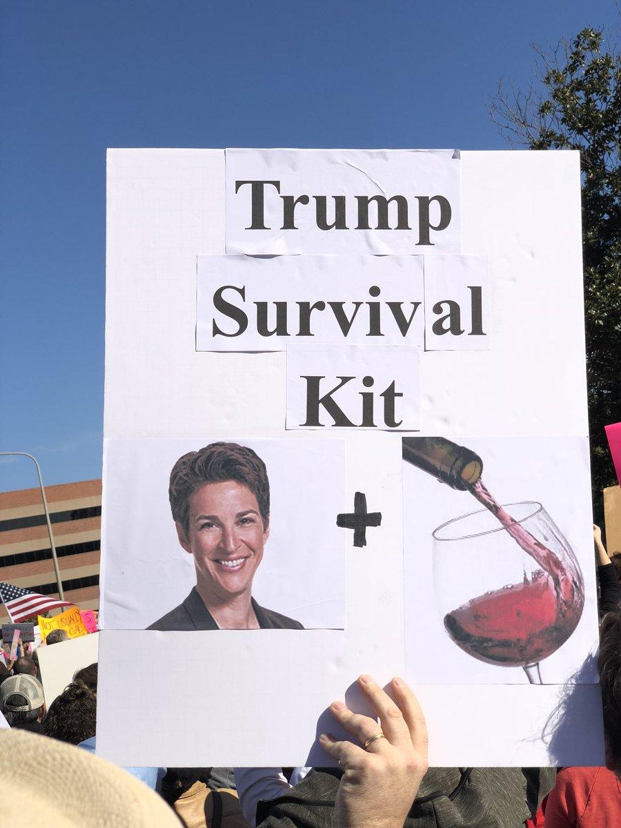 RT @Marmel: Orange County. #WomensMarch2018 #PowerToThePolls  #KeepCalmAndMaddow https://t.co/su5zeXFyH0