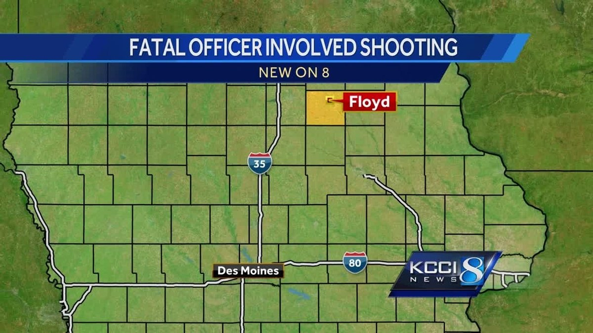 Officials ID man killed by officers in northeast Iowa