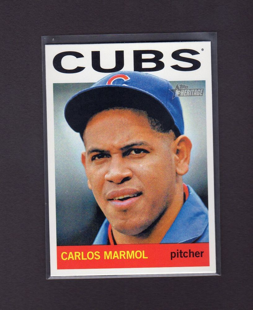 2013 Topps Heritage #347 Carlos Marmol Chicago Cubs (33279) https://t.co/mHgYCjlkwO https://t.co/SUHmgDt6cw