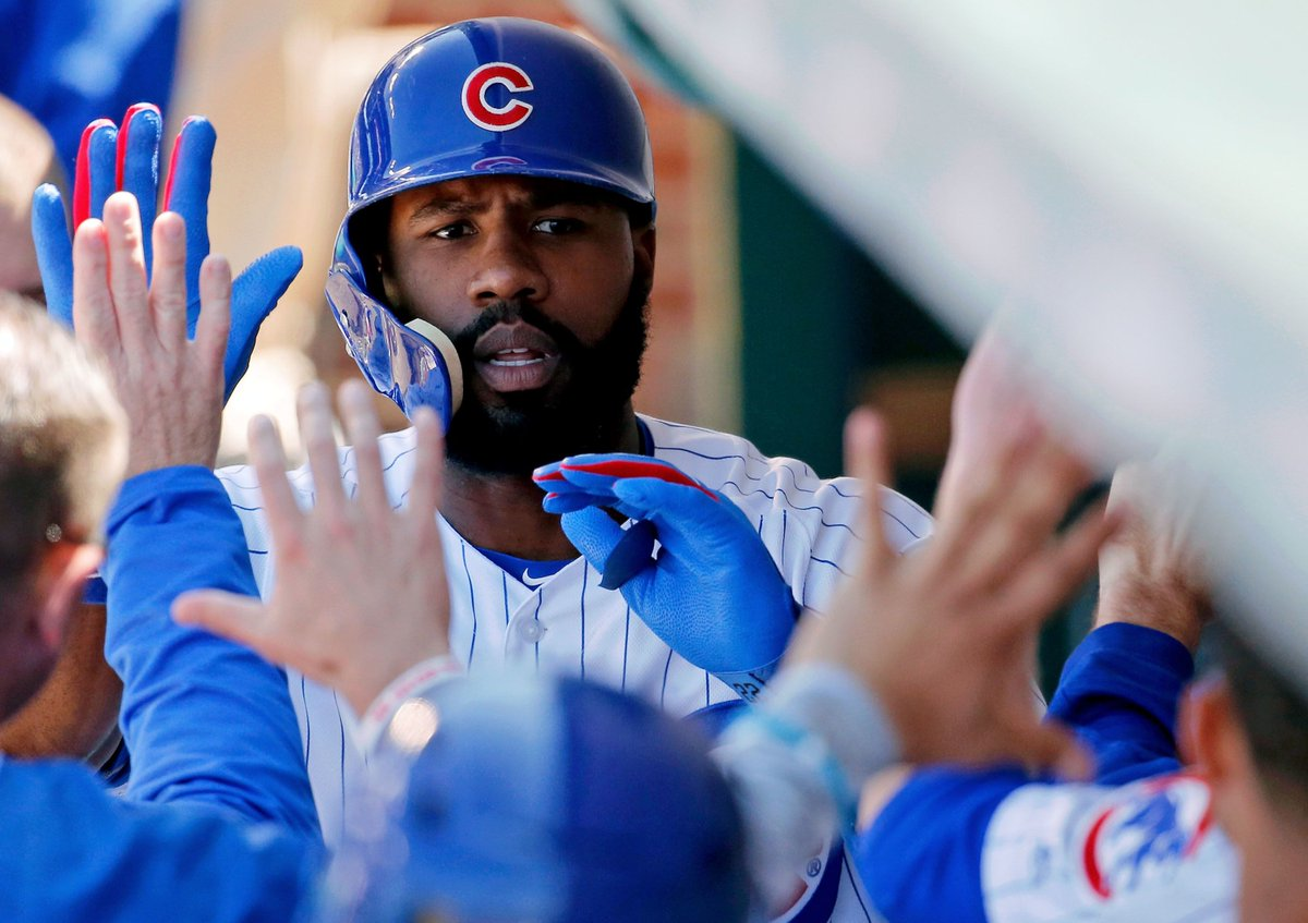 Chicago Cubs' Jason Heyward thinks he'll be the MVP of 2018 https://t.co/2ilXNQVypF via @cubbiescrib https://t.co/T5FsTW9dyh