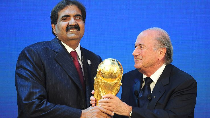 Blatter said that he knew Qatar would win well before the #fifaworldcup vote took place: https://t.co/6DlvuGdAvS https://t.co/cKi8yuFPpO