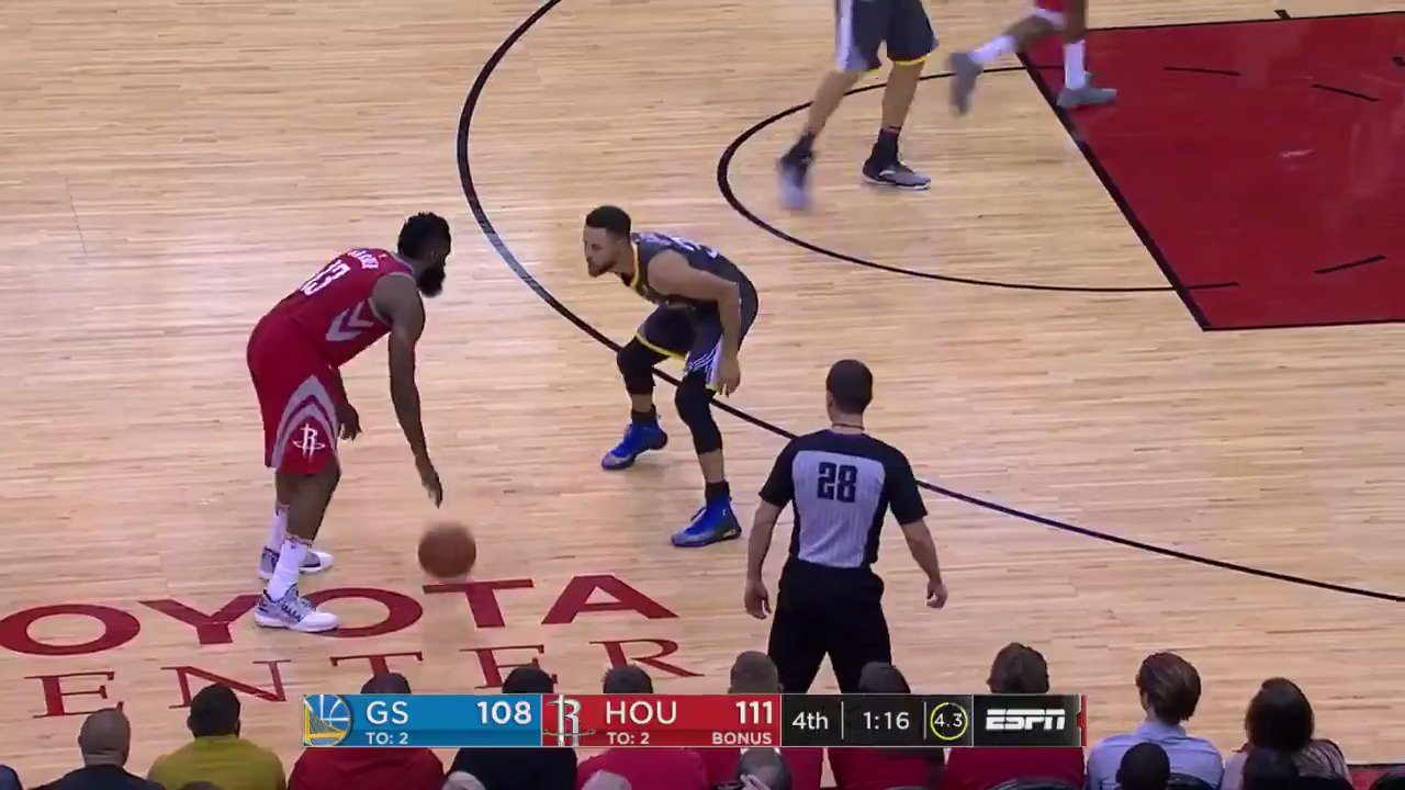 The best moments from the down to the wire thriller between the @HoustonRockets and @Warriors! https://t.co/sunUJOIAjy