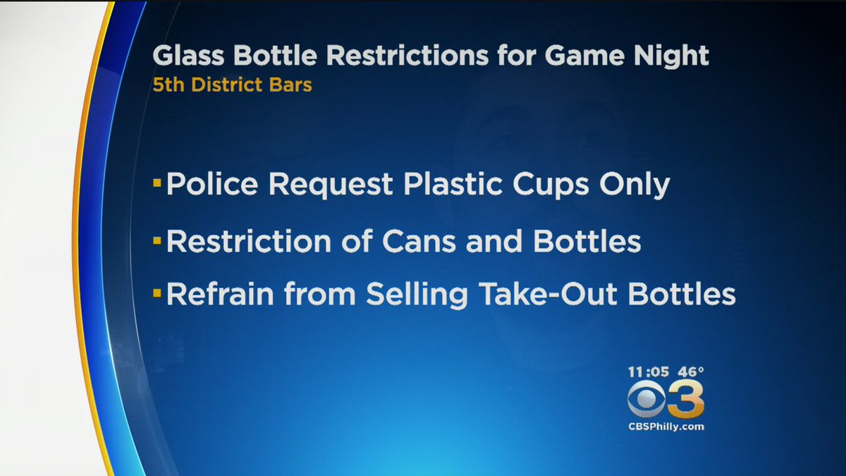 5th District Police Release Bar Restrictions For Sunday's NFC Championship Game
