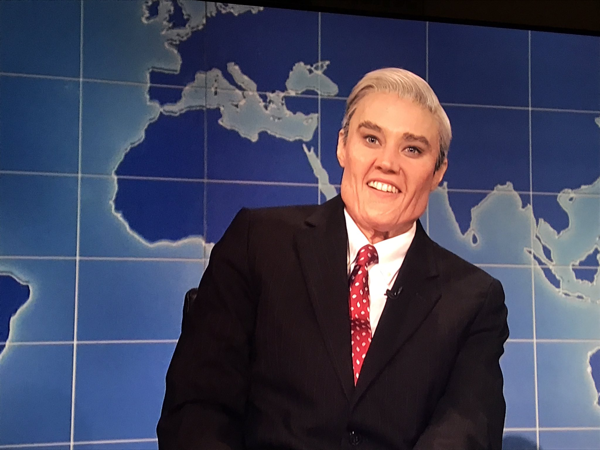 Add Robert Mueller to Kate McKinnon's list of 'SNL' characters. https://t.co/O4I6eR32Gm