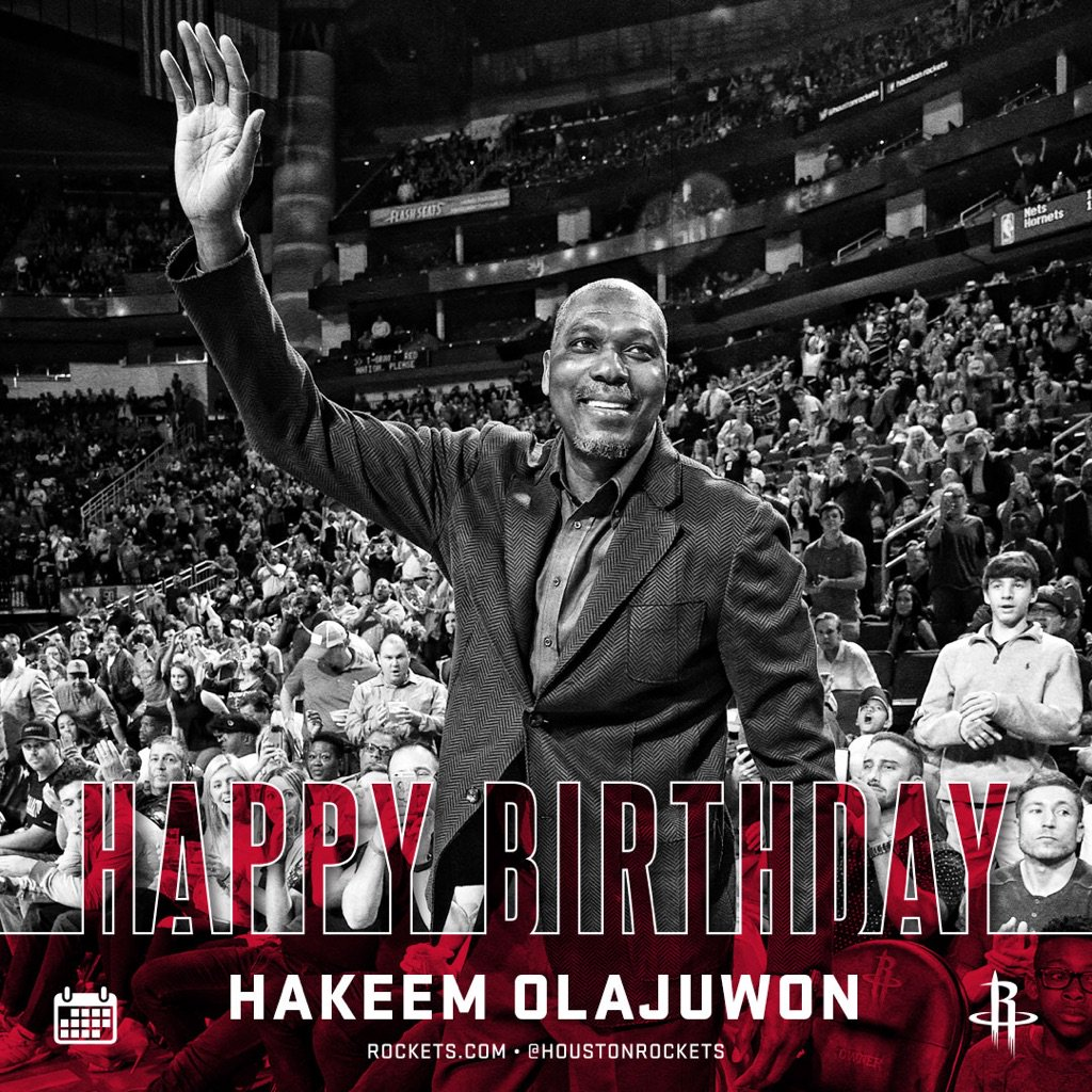 RT to wish #Rockets legend and Hall of Famer Hakeem @DR34M Olajuwon a Happy Birthday! �� https://t.co/sOBNSAsP4i