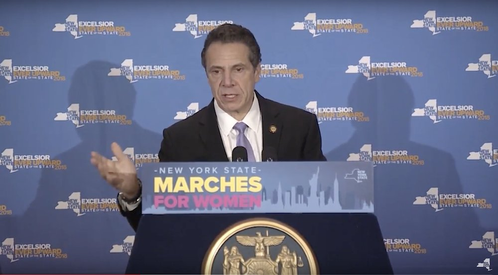 New York governor to Women's March: Trump 'simply does not respect women' https://t.co/P9ohK6C47q https://t.co/uo6iCa9UGg