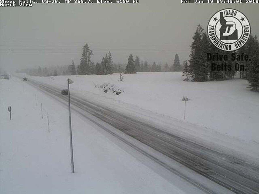 Winter weather advisory issued in eastern Idaho