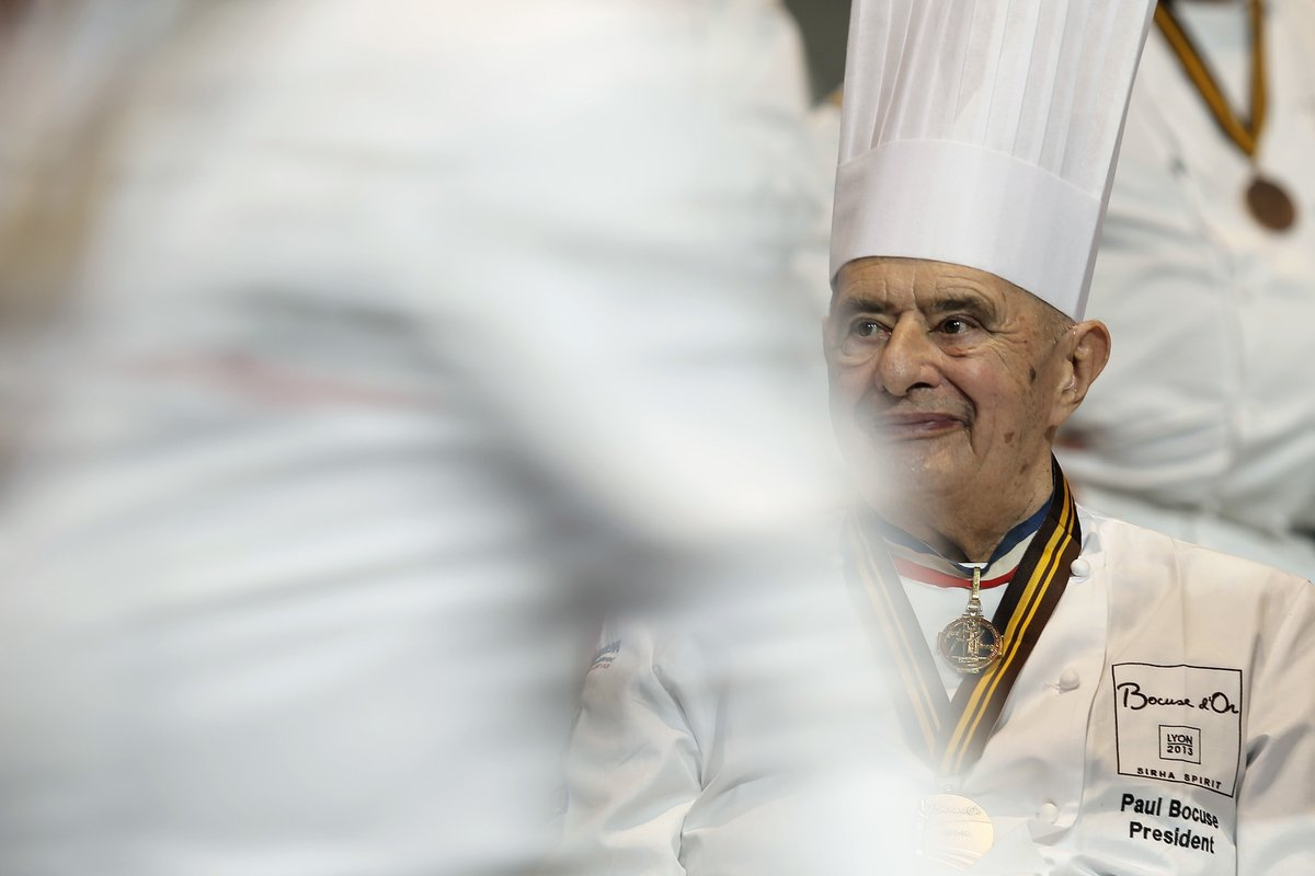 Paul Bocuse, modest but grandiose French chef, dies at 91