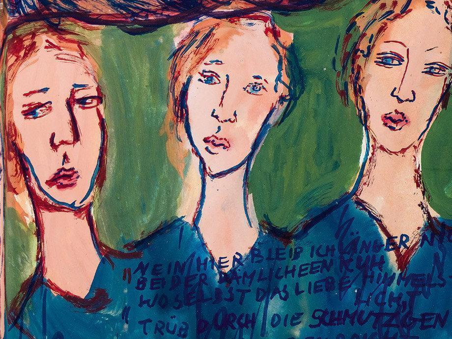 Charlotte Salomon: Painting for her life