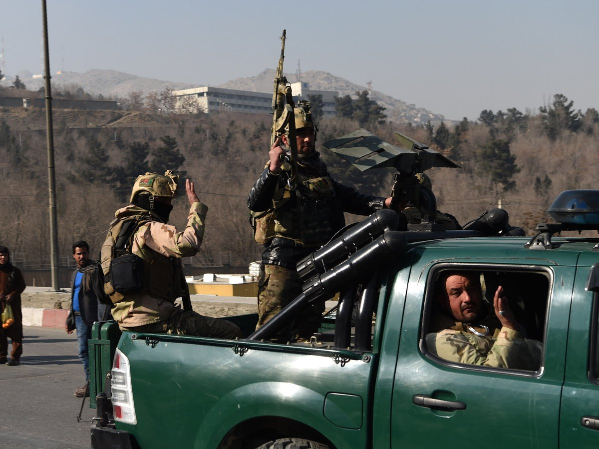Taliban's 13-hour attack on Kabul's Intercontinental Hotel ends with 18 dead