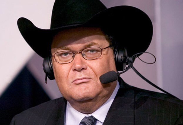 The look Jim Ross gives when you haven't heard our conversation with him yet. Look no further, here it is in it's entirety: https://t.co/fagvhXRLfZ #RAW25 https://t.co/AVw92fKuYD