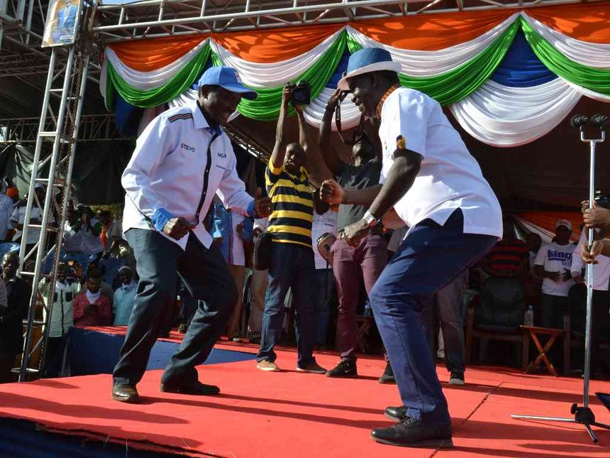 Don't grab everything by yourselves, Kalonzo tells Raila on House committees' row