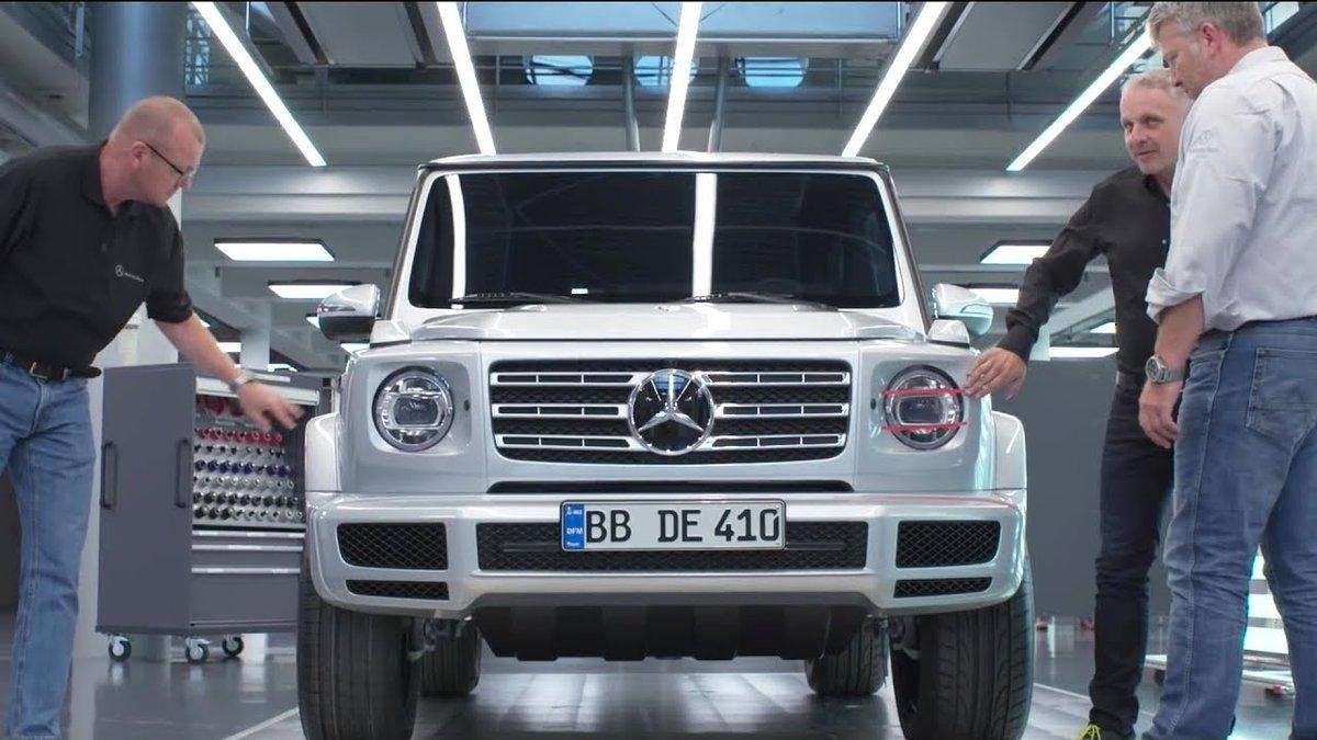2019 Mercedes G-Class - Making Of - Dauer: 10 Minuten