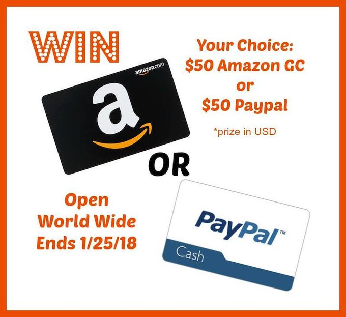 Win A Gift Card of Choice PayPal or Amazon #HeartThis