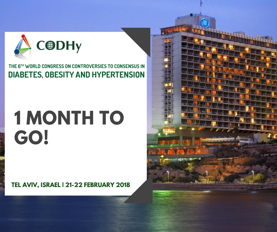 test Twitter Media - The countdown has begun!  Don't miss the opportunity to submit your abstract. For more information on abstract submission click here: https://t.co/eQzeLKb95s  #CODHy2018 #telaviv #countdown #diabetes #hypertension #obesity #medical #digital #innovation #treatment #research https://t.co/NkDfzNqVmD