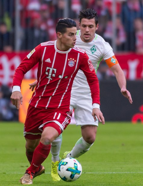 James Rodríguez today:  Most assists: 2  Most Touches: 113 Most passes : 90 Most key passes: 3 Best pass accuracy: 96% Most crosses: 9  Another game - another masterclass. https://t.co/LkricxR4W6