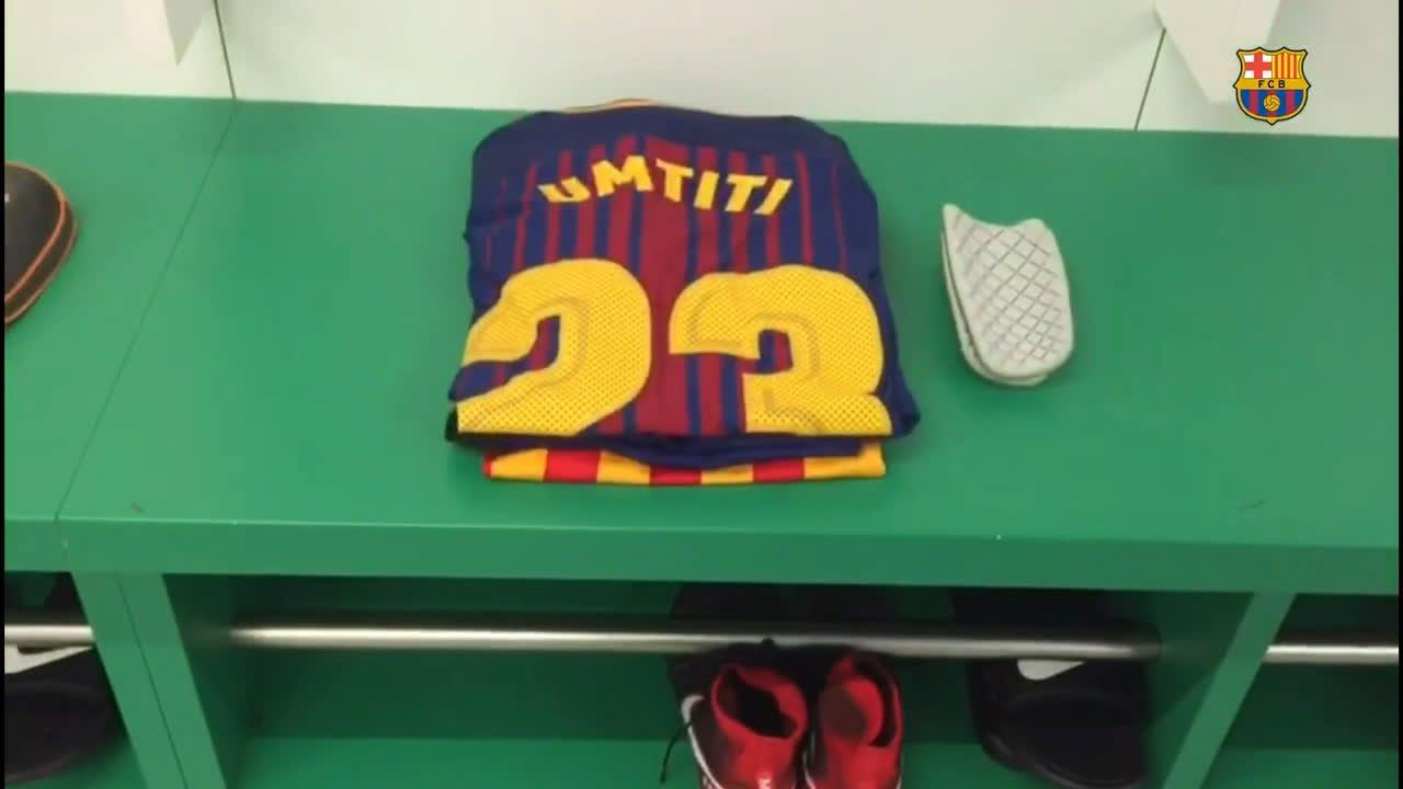 �� Benito Villamarín �� All set for #BetisBarça �� Let's go lads! ���� Força Barça! https://t.co/JwPwDilKNF