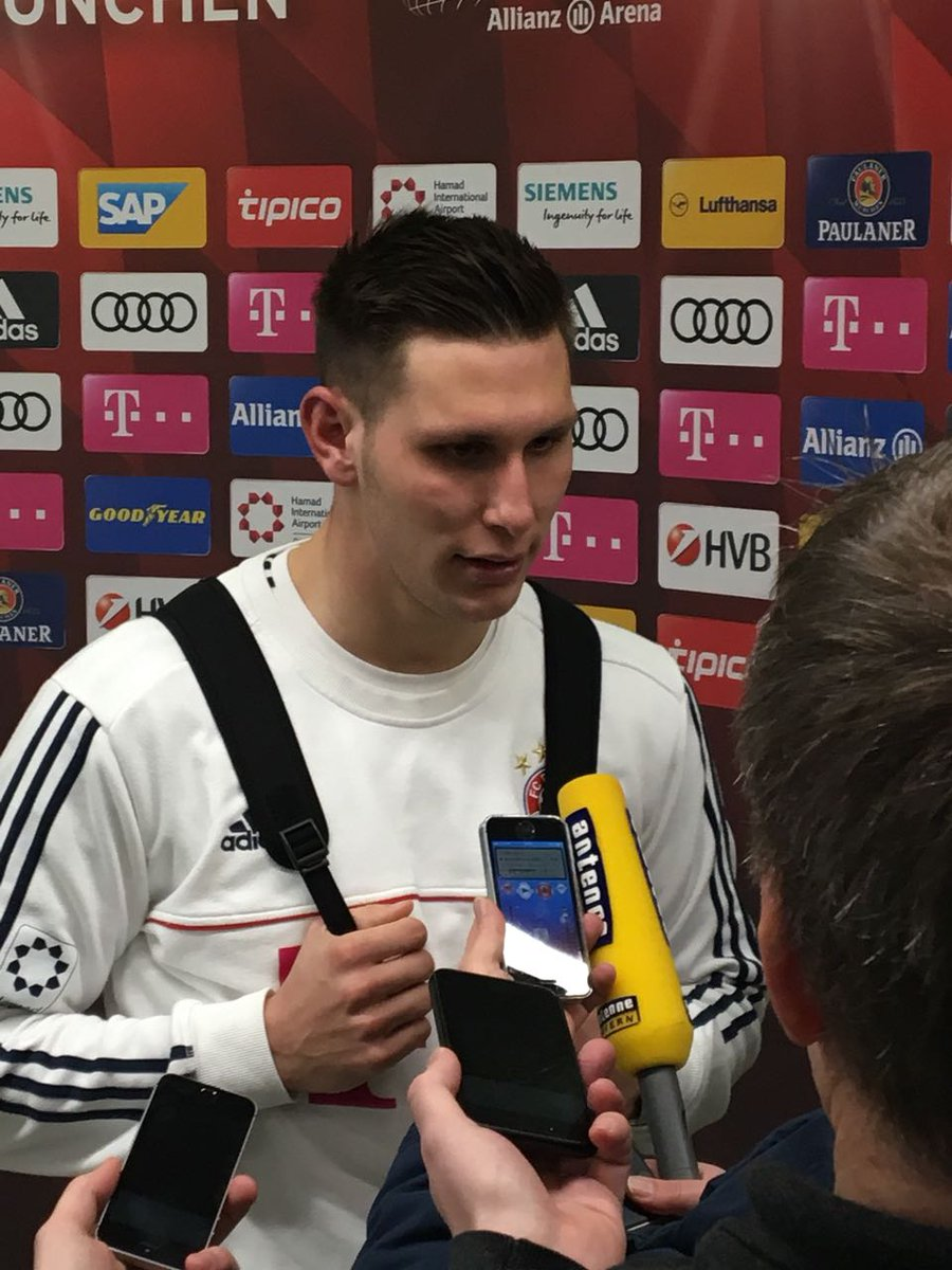 """#Süle in the mixed zone: """"We made things very difficult for ourselves, were often disorganised in the back four. Bremen were very organised. In the second half we were clearly better and deserved to win."""" #FCBSVW https://t.co/gcEEDitSfG"""
