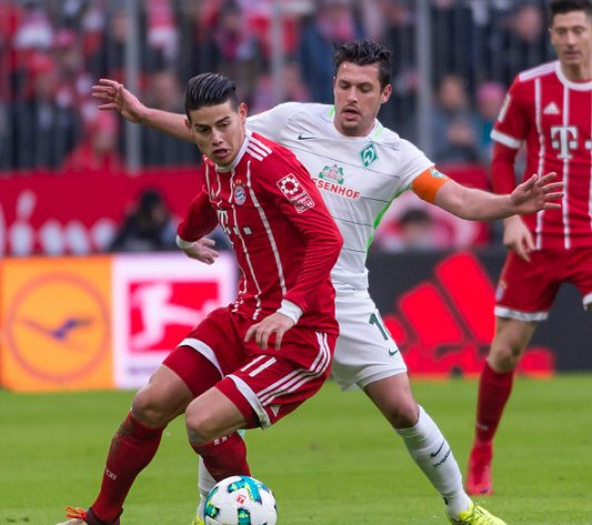 """Jupp Heynckes: """"James has developed so well at Bayern. He has got imagination and he is always willing to run and fight for the team"""" https://t.co/tojcnMfUeG"""