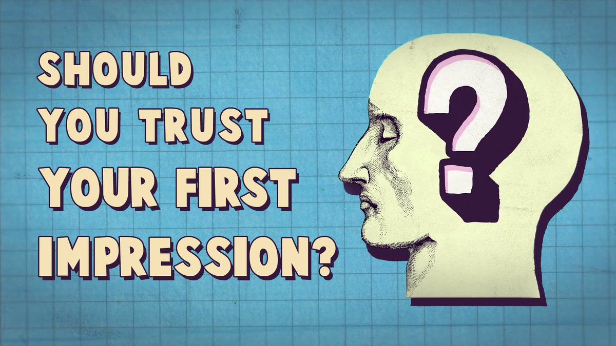 test Twitter Media - RT @TED_ED: Should you trust your first impression? https://t.co/yk3v1FX0Aq https://t.co/U5UleirgBs