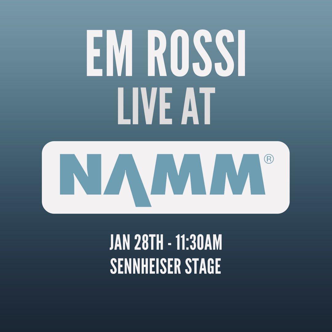 test Twitter Media - My first time to @NAMMShow w/ @SennheiserUSA! Can't wait!  #namm #namm2018 #sennheiser https://t.co/lhH81nPkZz