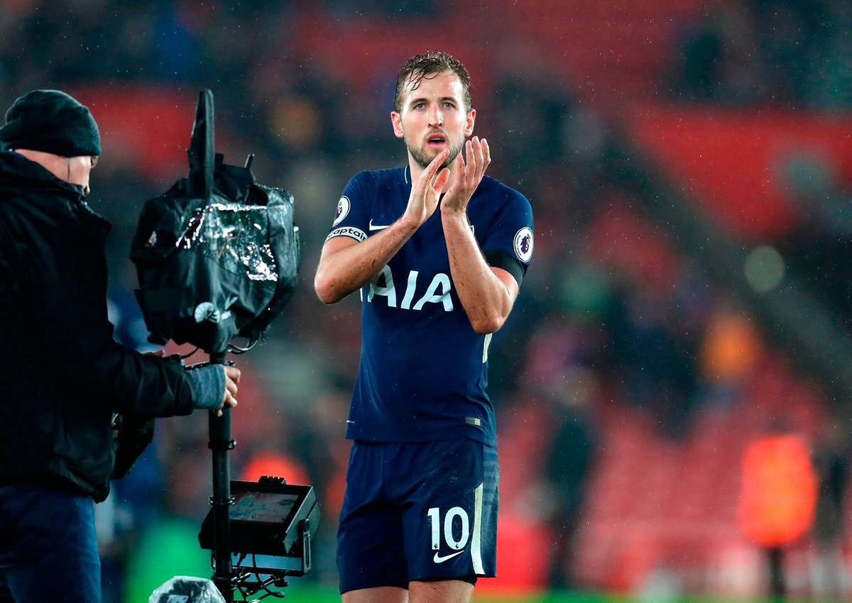 RT @IndoSport: Harry Kane rescues a point for Spurs at Southampton https://t.co/3Dtendoo0b #COYS https://t.co/c97QmrjGZL
