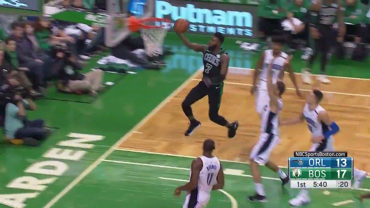 Jaylen Brown! ��  #Celtics https://t.co/aoNgAwqqpz