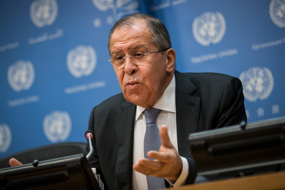 """test Twitter Media - #HappeningNow Russia's Foreign Minister SergeyLavrov calls for US Russia Cooperation ~ Says Russia can mediate Middle East, Mutual interests, Says """"Russia-Phobia"""" in US will pass https://t.co/fHk7c8iLi4 https://t.co/wWEA8gphrX"""