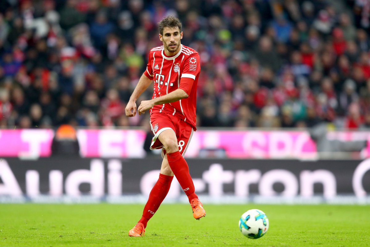 💯 games and counting for @Javi8martinez in the #Bundesliga 👏  Congrats, Javi! #MiaSanMia https://t.co/YMWL6cT3z1