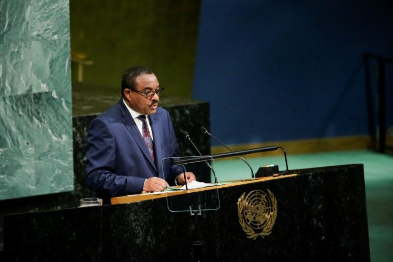 Ethiopia leader rejects call for World Bank arbitration in dam dispute